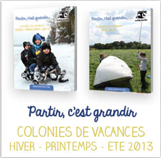 Catalogue colonies de vacances 2013