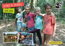 Brochure des colonies de vacances �t� 2015