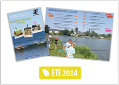 Catalogue colonies de vacances �t� 2014