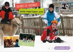 Brochure des colonies de vacances hiver printemps 2015