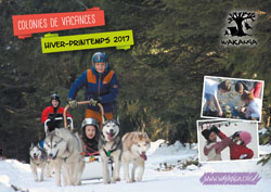 Brochure des colonies de vacances hiver printemps 2017