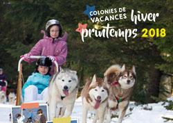 Brochure des colonies de vacances hiver printemps 2018