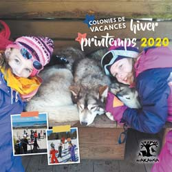 Brochure des colonies de vacances hiver printemps 2019