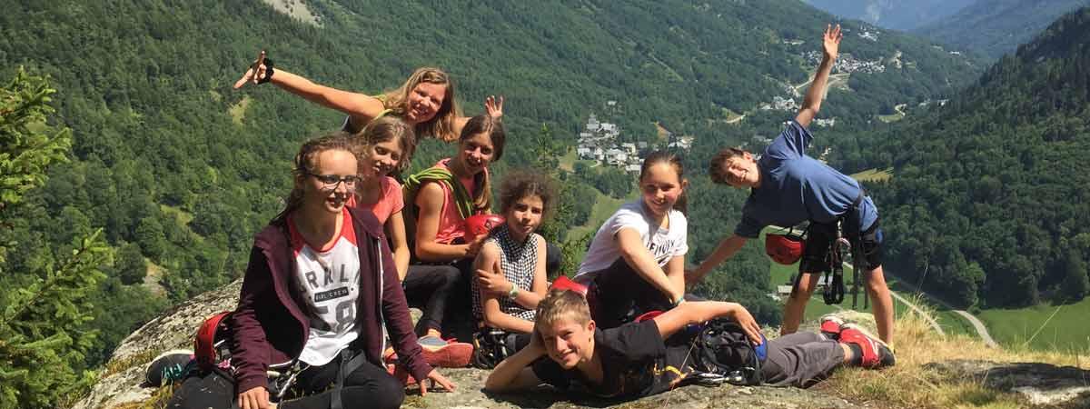 Colonies de vacances pour enfants et adolescents