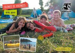 Brochure des colonies de vacances été 2017