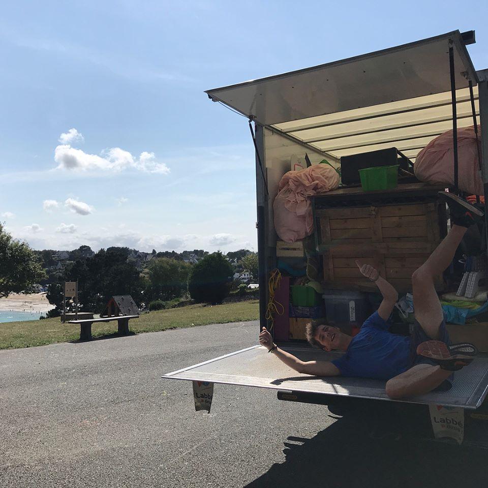Un camion bien rempli prêt à être déchargé !