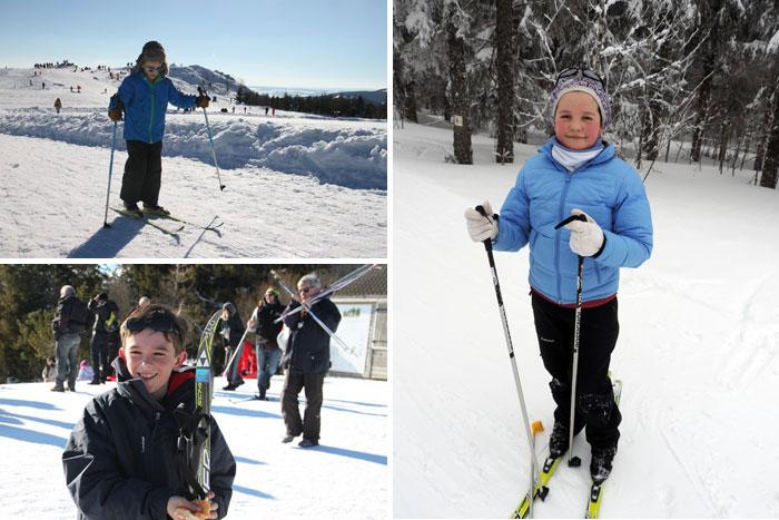 Les plaisirs du ski de fond