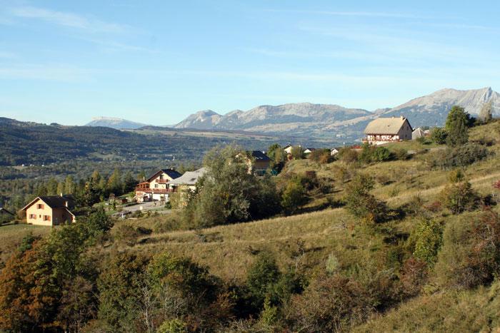 Vue sur la vallée du Champsaur