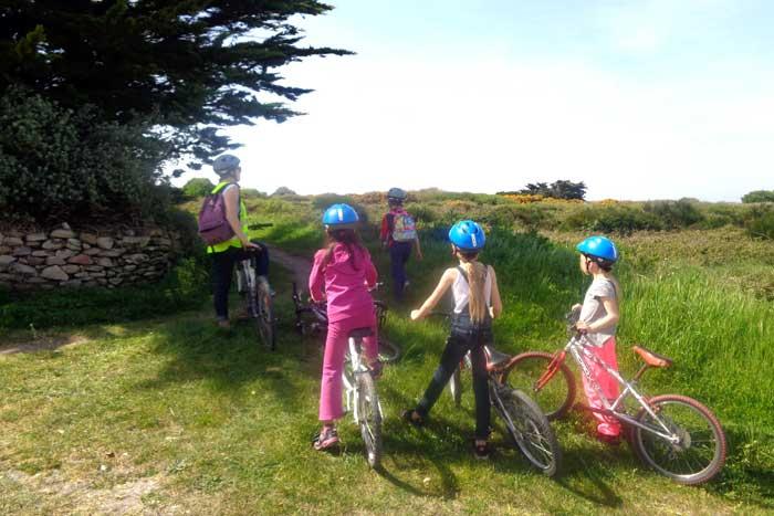 Balade en vélo sur le littoral