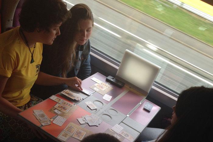 Voyage en train en Espagne