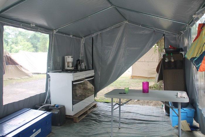 La tente cuisine