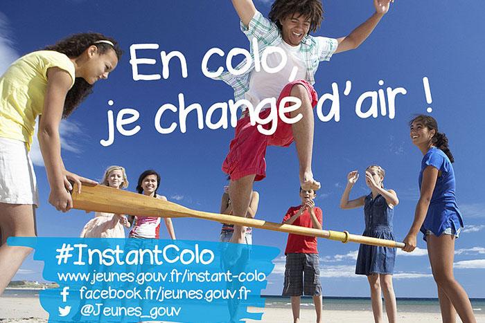 Affiche de la campagne InstantColo
