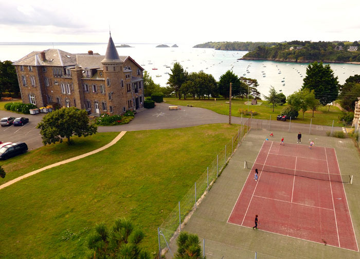 Le court de tennis privatif