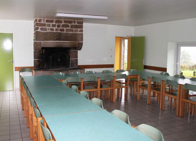 La salle à manger du gite