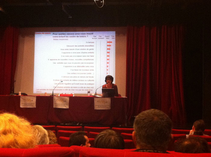 Conférence de presse de l'OVLEJ à Paris