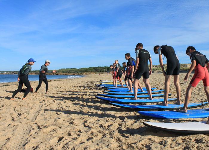 Les conseils des moniteurs de surf