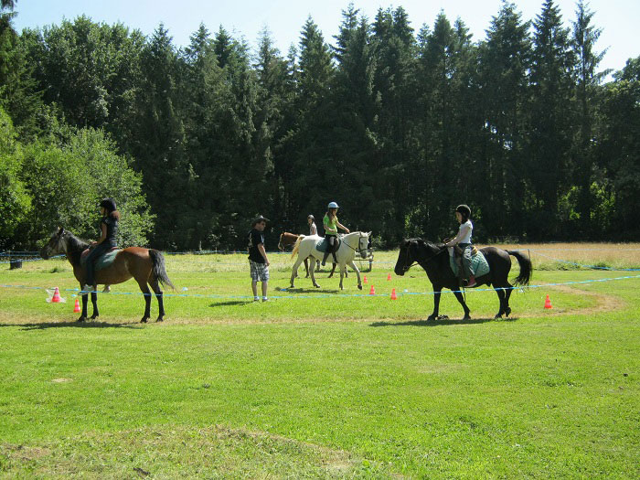Equitation en colo