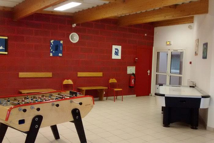 Une seconde salle de jeux