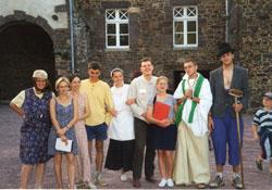 Colo à l'abbaye en 1997