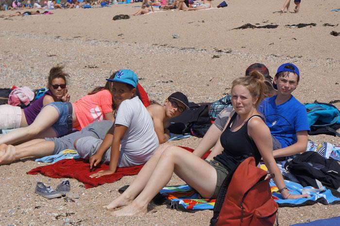 Détente à la plage