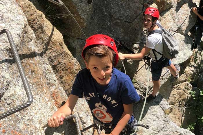 Randonnée en montagne en Isère