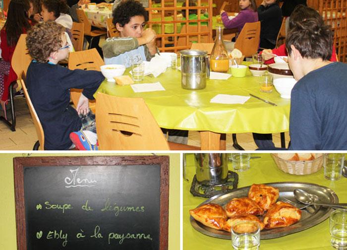 La salle à manger du centre de Saint-Front