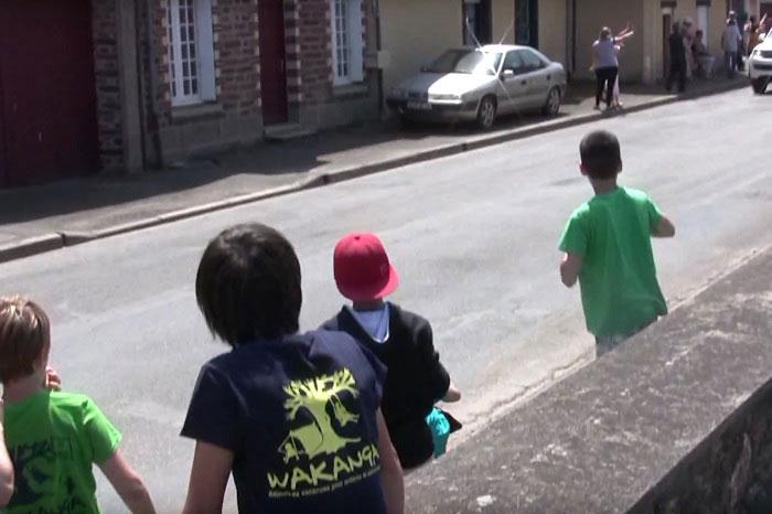 Enfants au tour de France